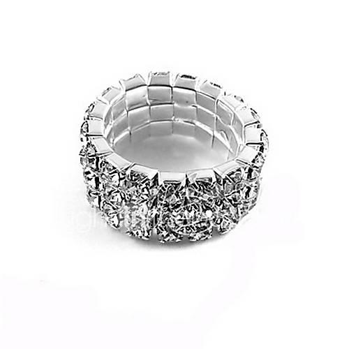 Refroidir alliage de conception avec l'anneau strass femme