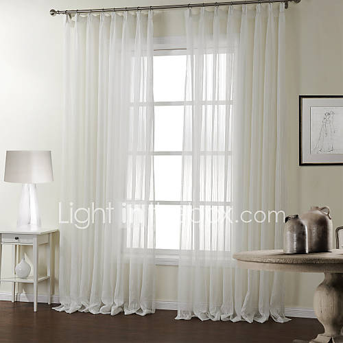 curtain modern stripe bedroom polyester material sheer curtains