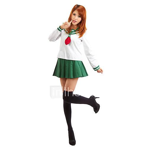 Anime Inuyasha Higurashi Kagome Cosplay Costumes Girls: Inspired By InuYasha Higurashi Kagome Anime Cosplay