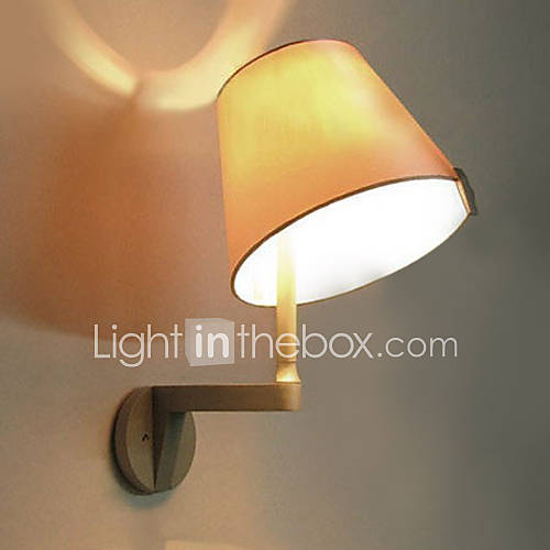 Modern Fabric Wall Lights : 40W Modern Wall Light with Fabric Shade Adjustable Metal Arm Design 649720 2016 ? $99.99