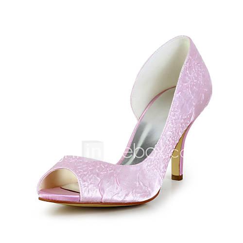 Scarpe da sposa - Scarpe col tacco - Spuntate - Matrimonio - Rosa - Da ...