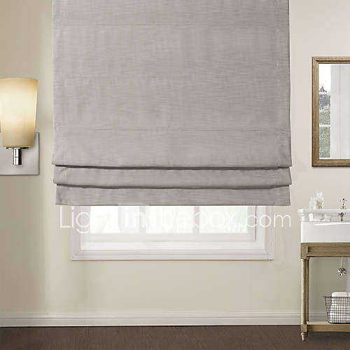 twopages modern light solid roman shade 835051 2017. Black Bedroom Furniture Sets. Home Design Ideas