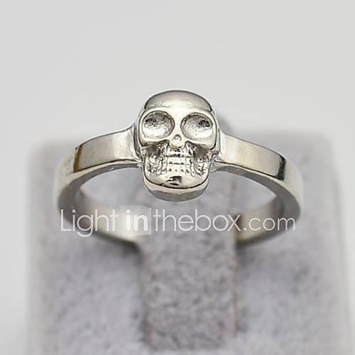 Fashion Jewelry Skull Finger Ring for Women