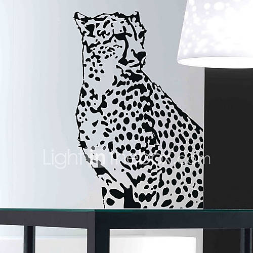 animal leopard wall stickers 739953 2016 34 99 leopard mount adhesive wall decal contemporary wall