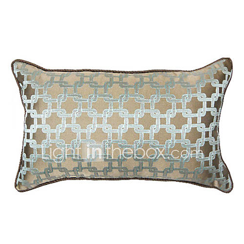 Rectangular Throw Pillow Covers : Interlock 20