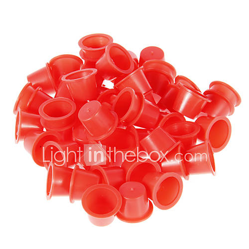 100pcs 16mm Small Caps Tattoo Inks Cups