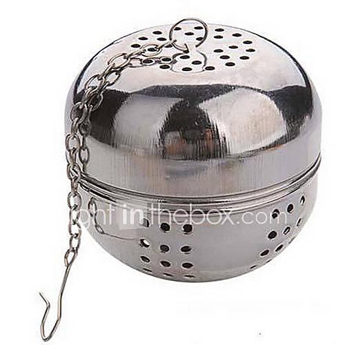 bola de acero té multifunción diámetro 5.5cm bloqueo colador infusor teteras Lightinthebox
