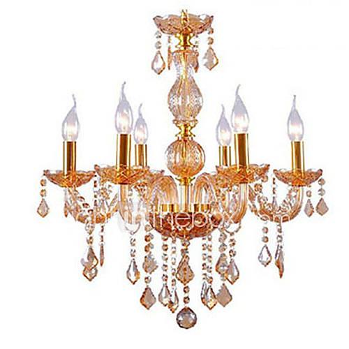 Golden Color E14  6 Modello Lampadari