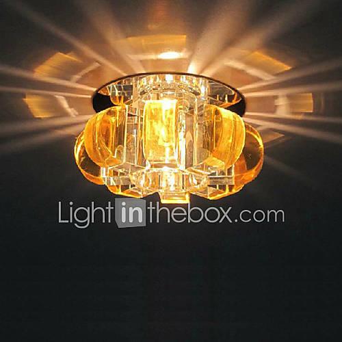 Moderna soffitto di cristallo lampadario