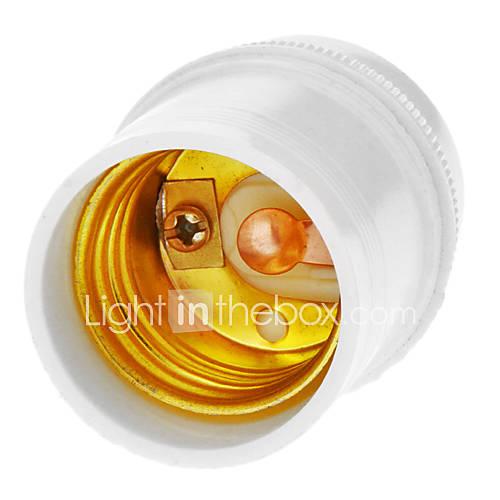 E27 Droplight Support de lampe (Blanc)