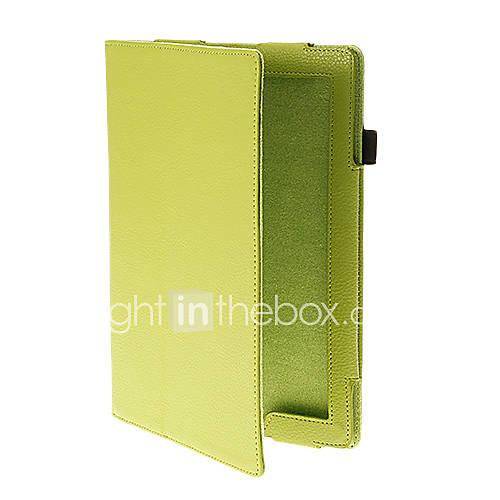 Solide Couleur du motif tigré unité centrale de qualité complet du corps de cas avec le stand pour iPad Air (couleurs assorties)