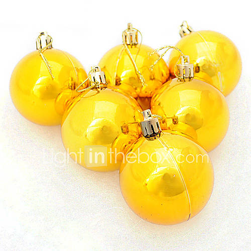 Decorative Christmas Ball Ornaments: Gold Christmas Decoration Christmas Ball Ornament 857348