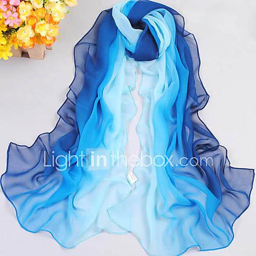 gradiente ocasional bufanda de hilo color de las mujeres Descuento en Lightinthebox