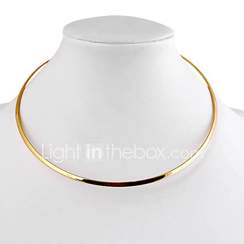Collar de Diseño Multicolor de Aleación (Plata, Dorado) (1 Pieza) Descuento en Miniinthebox