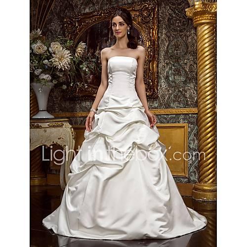 Lanting Bride® A-line / Princess Petite / Plus Sizes