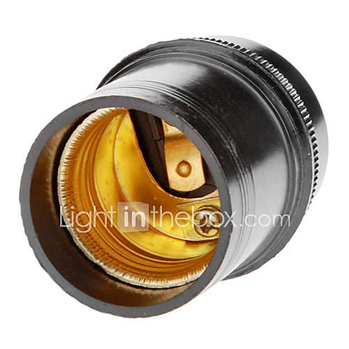 E27 Droplight Support de lampe (Black)