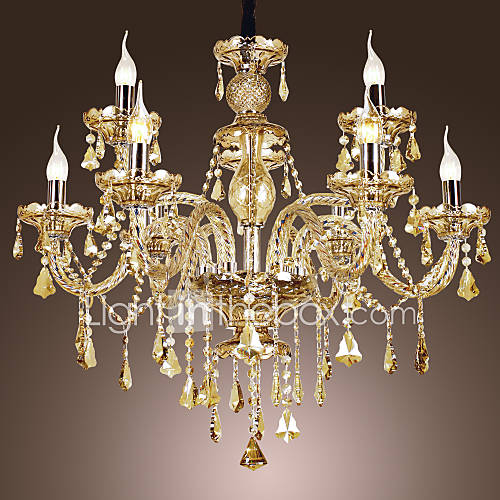Dining Room Chandeliers Traditional Crystals: Crystal Chandeliers , Traditional/Classic Living Room