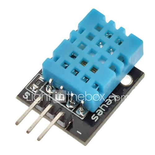 pour arduino dht11 compatible module de capteur d 39 humidit num rique de la temp rature de. Black Bedroom Furniture Sets. Home Design Ideas