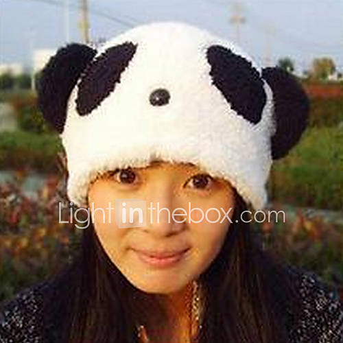 Cartoon Panda en peluche chapeau de l'enfant