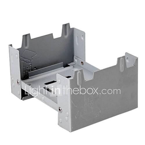 Extérieur portable Poêle gris pliant