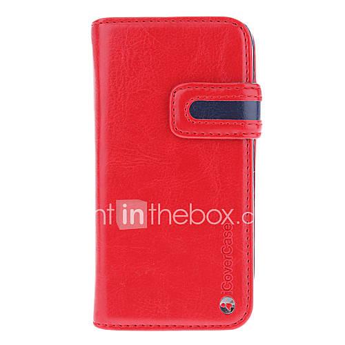 2-em-um projetado com slot para cartão removível e tampa traseira caso de corpo inteiro para iphone 5/5s (cores sortidas)