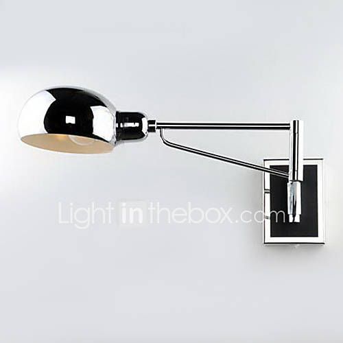 Wall Light Metal Box : Bathroom Wall Light,1 Light, Modern Metal Electroplating 983660 2016 USD 85.99