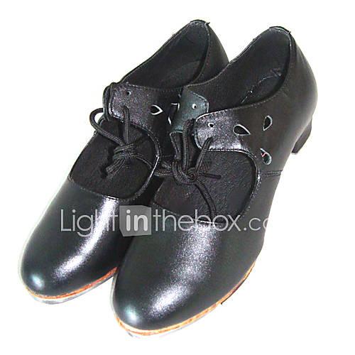 Tige en cuir doux de bal de danse moderne Chaussures