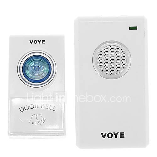 VOYE V002A numérique sans fil sonnette d'alarme de 80 millions