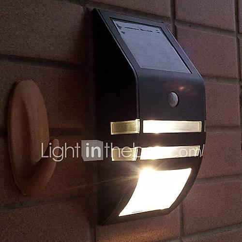 Modern PIR Motion Sensor Solar LED Wall Light Garden Wall Light 784069 2016 USD 79.99