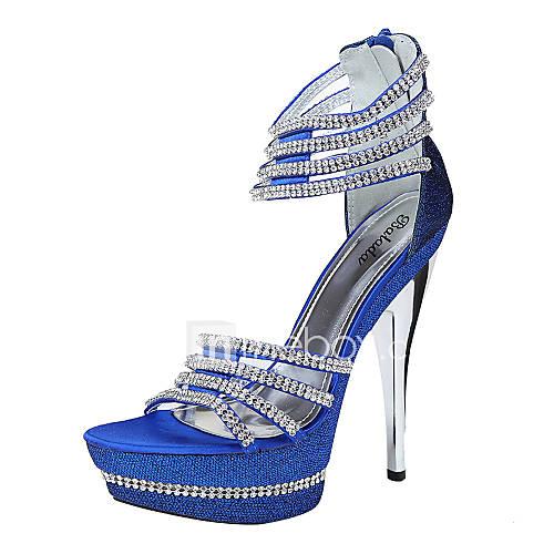 Zapatos de boda sandalias punta abierta boda for Zapatos de trabajo blancos