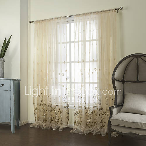 bedroom poly cotton blend sheer curtains shades 1494497 2016 143