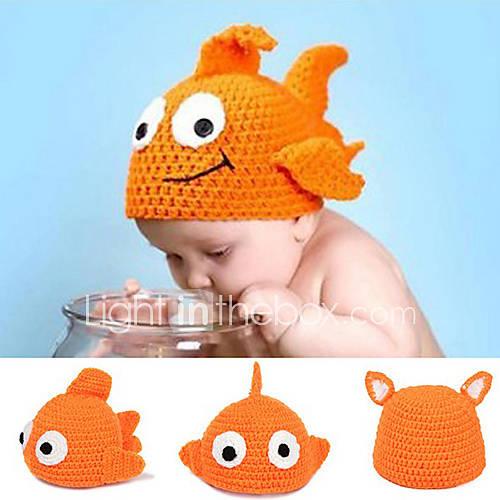 Tricot Goldfish tricot chapeau de l'enfant