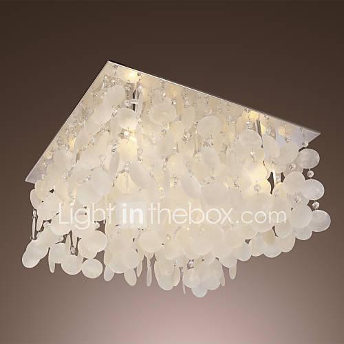 Lussureggianti luci pendenti di cristallo con