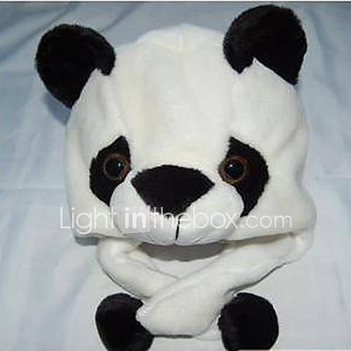 Panda Cartoon animaux en peluche Chapeau de Kid