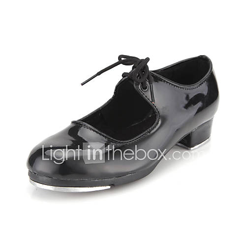Patent Leather Upper Tap Dance Shoes for Women/Kids Tap ...
