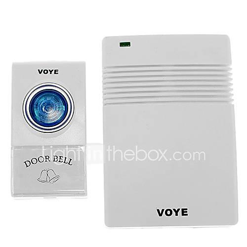 VOYE V005A Home Security 1 à 1 Reçu 30-50m Intelligent sonnette sans fil