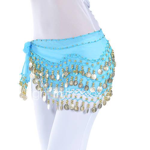 Cinturón(Negro / Azul / Verde / Rosa / Morado / Rojo / Azul Rey / Blanco / Amarillo,Gasa,Danza del Vientre / Sala de Baile) -Danza del Lightinthebox
