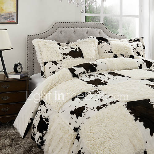 Plaid polyester duvet cover sets 1049287 2016 for Housse de duvet