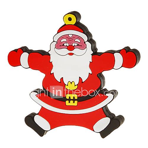 4G Cartoon Santa Clau Shaped USB Flash Drive