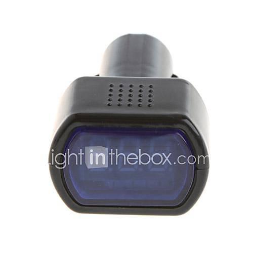Compteur électrique avec haute luminosité de la LED pour DC 12V Voitures