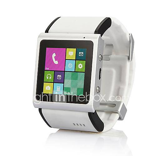 Smart Watch Phone EC309 1.54 pollici Android 4.0 Dual Core schermo di tocco capacitivo (3G, macchina fotografica, WIFI, Play negozio, MP3 MP4): offerta