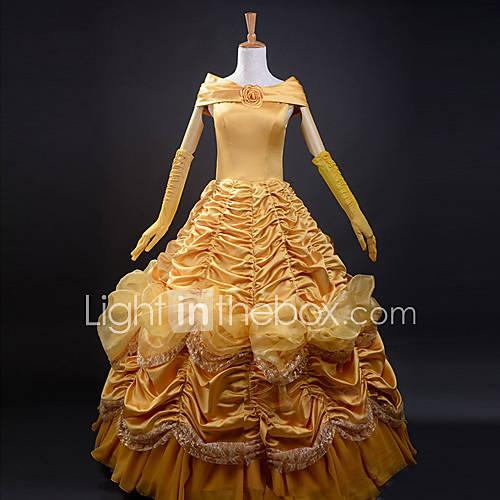 fantasias-de-cosplay-festa-a-fantasia-conto-de-fadas-festival-celebracao-trajes-da-noite-das-bruxas-amarelo-cor-unica-vestido-luvas