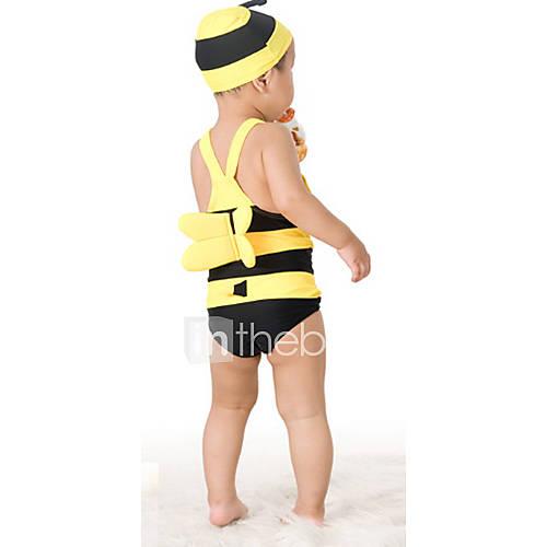 Rayures jaunes Maillots de bain pour enfants