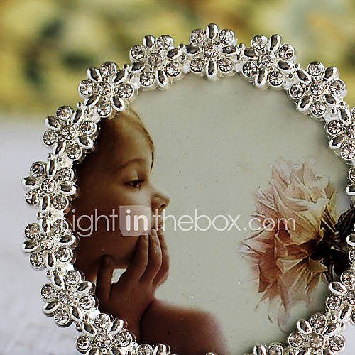 De style moderne mariage floral Picture Frame