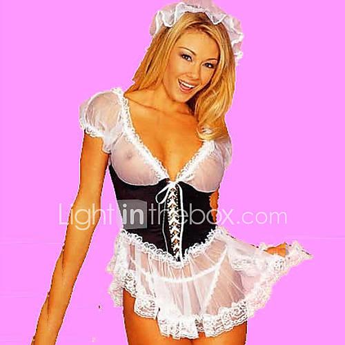 hot-girl-black-white-lingerie-francesa-uniform-maid