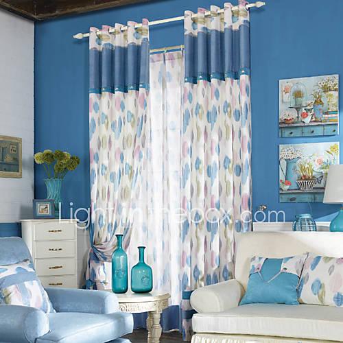 dois-paineis-estilo-fresco-luz-moderno-circulos-azuis-poupanca-de-energia-cortina
