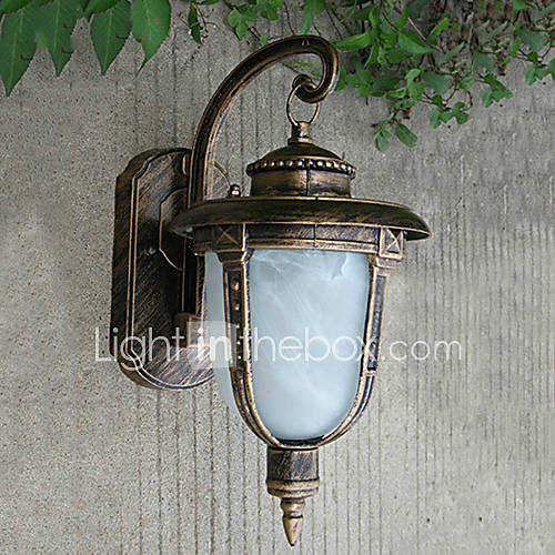 Outdoor Wall Lights Metal: Outdoor Wall Lights , Traditional/Classic E26/E27 Metal