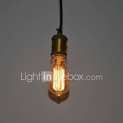 60w moderno e minimalista lampada a