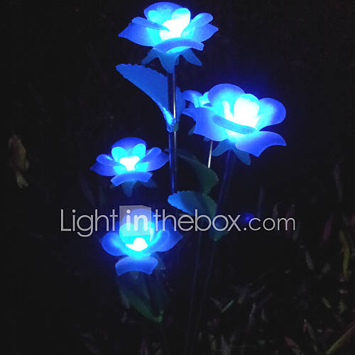 Led Solar Powered Lawn Light Garden Light Decorative Light Flower Light Leh 28030 B5 1222408