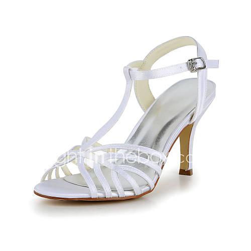 Women's Wedding Shoes Heels/T-Strap Sandals Wedding/Party